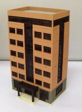 Outland Models Railway Colored Modern City Building Grand Apartment N Scale