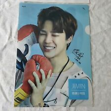 JIMIN BTS Photo Clear File  L Folder Document Holder  KPOP BangtanBoy Gift