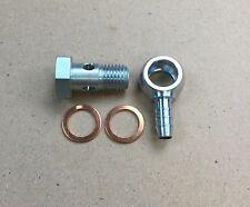 Hohlschraube M12x1,5 / Ringnippel für PA-Rohr innen 6mm