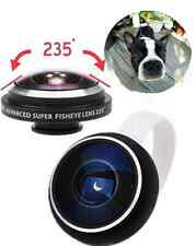 Portable HD Super Fish Eye Lens 235 Degree Clip For Universal Cellphone Tablet#