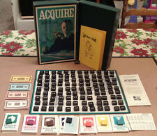 1963 ACQUIRE Game Test Market World Map Edition With Lloyd's Rules of ACQUIRE