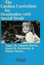 Carolina Curriculum for Preschoolers With Special Needs-ExLibrary