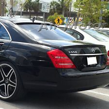 Unpainted Mercedes Benz W221 L Type Roof + A Trunk Spoiler Wing S550 S63AMG