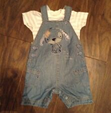 boys next dungarees 6-9 Months