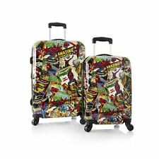 Heys Marvel Comics Amazing Spiderman 2 pc Luggage Set