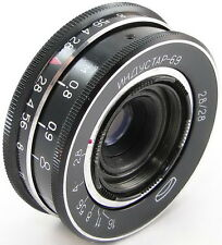 *Virtually NEW* INDUSTAR-69 2.8/28 Russian Wide Angle Pancake Lens M39 LOMO #76
