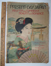 RARE - Present Day Japan - 1930 - Large Magazine - w Color Print Plates