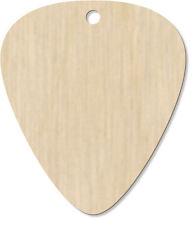 8 X 'en blanco' grabado Colgante de guitarra pick/(D-GP-00003071)