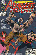 Avengers West Coast Marvel Comics #87 October 1992