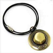 One Piece Portgas D Ace hat Cosplay necklace pendant Necklace Charm HOT