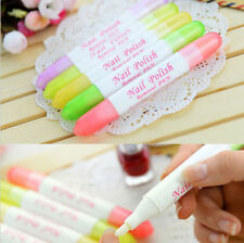 Portable Nail Art Polish Corrector Remover Pen Clean Mistake With 3 Tips
