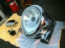 Gilroy Indian Rare Complete Headlight Nacelle Cover and Assembly