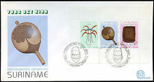 Suriname 1983 Child Welfare, Artifacts M/S FDC First Day Cover #C30256