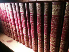 Victor HUGO OEUVRES COMPLETES / Ollendorff reliure chagrin COMPLET 19 Vols TBE.