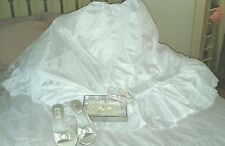 wedding gown accessories, new with tags