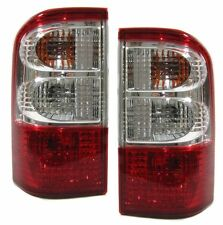 Red clear tail lights rear lights for Nissan Patrol GR II Y61 97-03