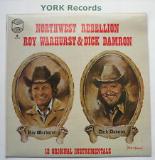 ROY WARHURST & DICK DAMRON - Northwesr Rebellion - Ex LP Record Westwood WRS 102