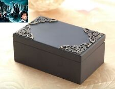 Black Vintage Rectangle Music Box : Harry Potter Hedwigs Theme Soundtrack