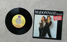 """S VINYLE 45T 7"""" SP MUSIQUE / MADONNA """"INTO THE GROOVE"""" 1985 SIRE 928 934-7"""