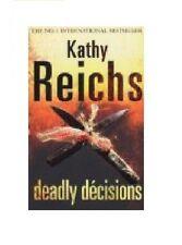 KATHY REICHS ____ DEADLY DECISIONES _____ MANCHADO EN TIENDA __ ENVÍO GRATUITO