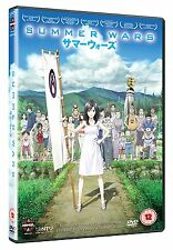SUMMER WARS anime - DVD - REGION 2 UK