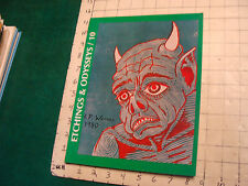 Etchings & Odysseys a special Tribute to WEIRD TALES #10 1987: 1 of 1000 SCARCE