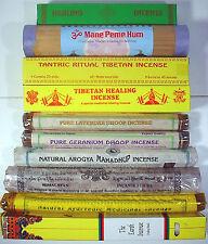 All Natural Tibetan ~ HEALING BLENDS ~ HQ incense x 10