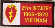 Embroidered Military Patch Vietnam Tour 25th Infantry badge NEW