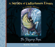 NEW (10) SLIPPERY SLOPE (AUDIO CD) LEMONY SNICKET Series of Unfortunate Events