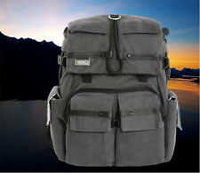National Geographic Camera DSLR Bag Backpack Photo Container Travel Case Canvas