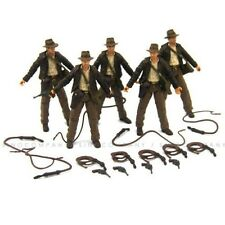 "Lot 5pcs The INDIANA JONES RAIDERS OF LOST ARK 4"" 4In.JOINTED FIGURES Toys M639"
