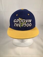 GROOVING THE MOO - Vintage Baseball Cap/Hat in excellent condition (H12)