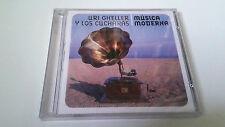 """URI GHELLER Y LOS CUCHARAS """"MUSICA MODERNA"""" CD 12 TRACK PRECINTADO SEALED"""