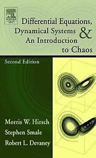 Differential Equations, Dynamical Systems, and an Introduction to Chaos by...