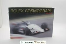 Genuine Vintage Rolex Cosmograph Daytona Floating Booklet 1999 UK English