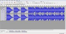 Audacity Multipista la edición de música Editor de grabación Nuevo programa de software en CD