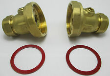 PLUMBING PIPE CENTRAL HEATING FITTINGS 22MM BRASS PUMP VALVES BN X 2 BALL TYPE