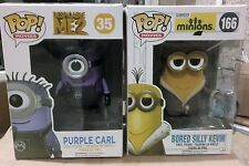 Funko pop vinyl minion despicable me figures x 2*
