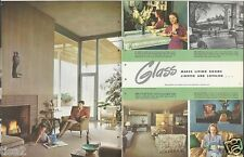 1950 PITTSBURGH GLASS Products Windows Mirrors Vintage Decor Design 28pg Catalog