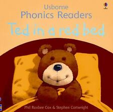 Usborne Phonics Readers:Ted in a Red Bed c2006 NEW PAPERBACK We Combine Shipping