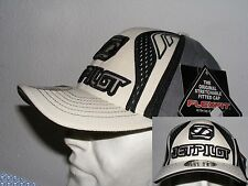 JET PILOT cap Motorcycle Flexfit - Embroidered - one size