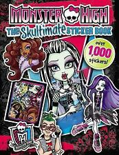 Monster High - Skultimate Sticker Book (2014) - Used - Trade Paper (Paperba