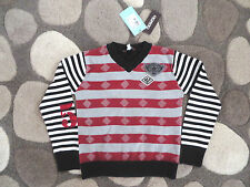 NEW NWT MERESE FRANCE OOXOO EURO BOUTIQUE BOYS SWEATER PULLOVER 8 10 CHRISTMAS