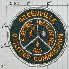 NORTH CAROLINA, GREENVILLE UTILITIES COMMISSION ELECTRIC WATER GAS PATCH