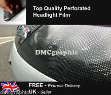 10mX106cm Perforated Car Window Fly Eye Headlight Film Mesh One Way Vision Wrap