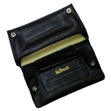 Dr Plumb Handrolling Tobacco Pouch with Paper & Lighter Holders