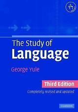 The Study of Language, Yule George, 0521543207, Book, Acceptable