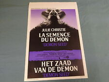ORIGINAL MOVIE POSTER / AFFICHE - DEMON SEED ( JULIE CHRISTIE )