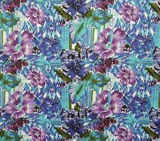 Designer Pure Cotton Floral Printed Fabric Craft Apparel Fabrics By The Yard