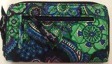 Vera Bradley Retired Rare Blue Rhapsody Zip Around Wallet, Excellent!